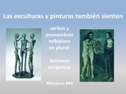 Las estatuas y pinturas también sienten