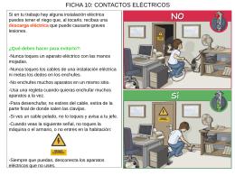 Ficha 10 - Contactos eléctricos