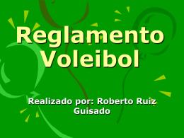 Reglamento volley