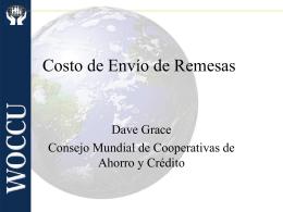 Dave Grace - Consejo Mundial de Cooperativas de Ahorro y Crédito
