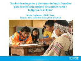Niños, niñas y adolescentes que asisten a Educación