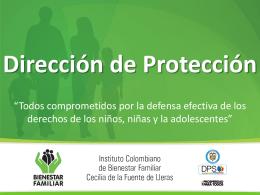 Presentación Dirección de Protección.