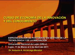 Conocimiento - Universidad Nacional de Luján :: Campus Virtual