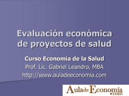 Diapositiva 1 - Aula de Economía