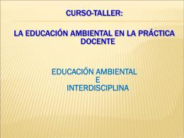 La EA en la práctica docente