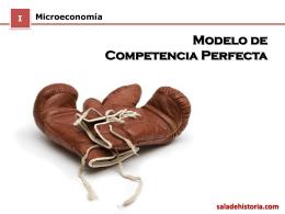 Modelo de Competencia Perfecta