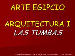 Arquitectura.Tumbas  - IES JORGE JUAN / San Fernando