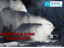 Presentación nieve 2015