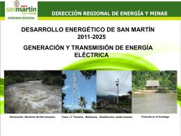 Desarrollo Energético de San Martín 2011