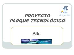 PROYECTO PARQUE TECNOLOGICO
