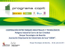 Presentación COPIT - ADE Parques Tecnológicos y Empresariales