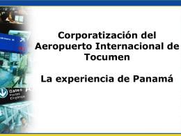 AEROPUERTO INTERNACIONAL DE TOCUMEN, S.A.