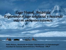 Lago Vostok Antártida