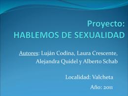 Proyecto Hablemos de Sexualidad