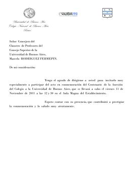 nota cien años mAS vELEZ - Colegio Nacional de Buenos Aires