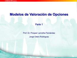 Modelos de valoración de opciones