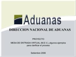 ampliar información - Asociacion de Despachantes de Aduana del
