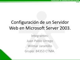 Sitios Web - redesgrupo1tarde