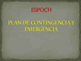 ¿qué es un plan de contingencia?