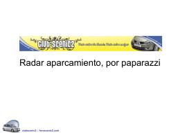 Radar aparcamiento