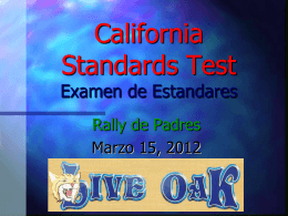 California Standards Test