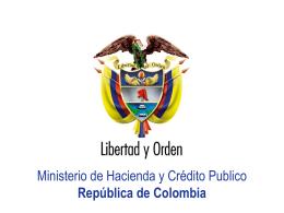 Plantilla Preentaciones Oficiales Ministerio de Hacienda