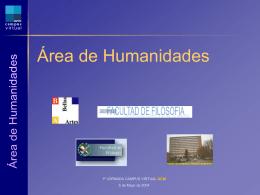 Área de Humanidades
