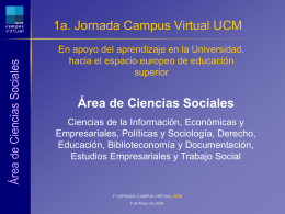 Área de Ciencias Sociales