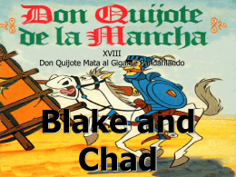 XVIII Don Quijote Mata al Gigante Pandafilando