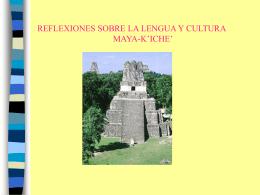 Idiomas que se hablan en Guatemala