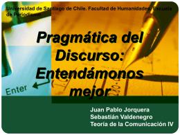 Exposicion Pragmatica del Discurso