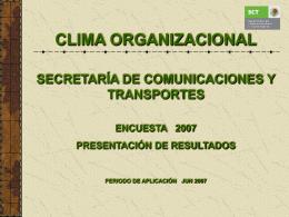 Presentacion Resultados ECO 2007 01
