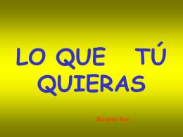La fórmula del Éxito. Ricardo Ros. + Utopía. Blanca Más.