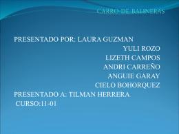 CARRO DE BALINERAS