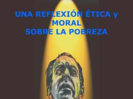Exposición etica de la pobreza