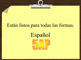 ¿Sabes tus verbos? Try the game here!