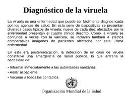 viruela de la varicela