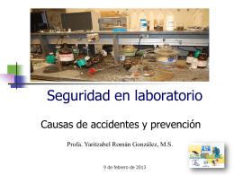 Seguridad en laboratorio parte 2