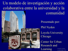 No Slide Title - Loyola University Chicago