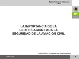 Ing. Gabriel Tort DGAC DF México