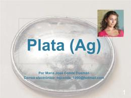 Plata (Ag).
