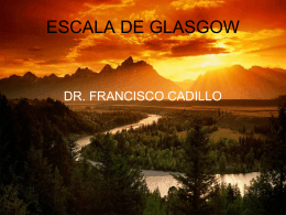 Escala de Glasgow