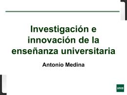 Innovación y Docencia