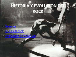 historia del rock - david