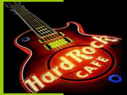 Presentación sobre Hard Rock Café