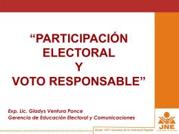 mar_04abr2006 - JNE - Jurado Nacional de Elecciones