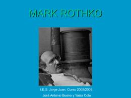 MARK ROTHKO - IES JORGE JUAN / San Fernando