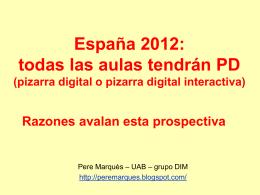 la PD - Web de Pere Marquès