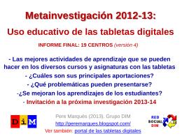 metainvestigacion2013