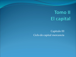 Tomo II El capital